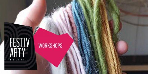 Rainbow Weaving Workshop @ Co-Op Building