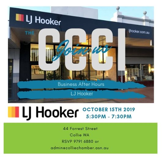 Business After Hours LJ Hooker @ LJ Hooker | Collie | Western Australia | Australia