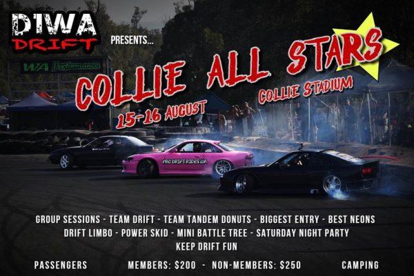 Collie All Stars - D1WA Drifting @ Collie Motorplex | Western Australia | Australia